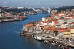City of Oporto in Portugal Stock Photos