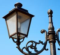 Stock Photo of europe in the sky of italy lantern and abstract illumination