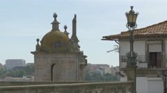 Sao Lourenco church in Porto Stock Footage