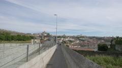 Dom Luis bridge in Porto Stock Footage