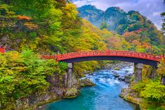 Sacred Bridge - stock photo
