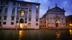 San Stae and adjacent building Stock Footage