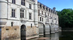 Chenonceau Chateau, Loire Valley, France Stock Footage