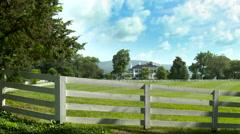 Farmhouse time lapse - stock footage