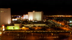 Las Vegas, NV Night Timelapse Stock Footage