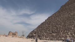 Pyramids of Giza Stock Footage