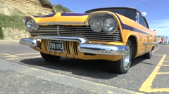 Plymouth Fury 2 Door Classic Custom Car - stock footage
