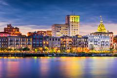 Savannah Skyline Stock Photos