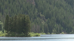 Colorado Mountain Lake - stock footage