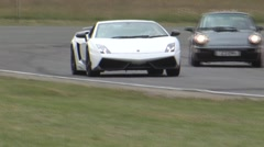 Lamborghini Gallardo on track Arkistovideo