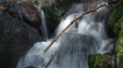 Water flow blended Stock Footage