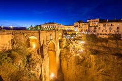 Ronda Spain Bridge - stock photo