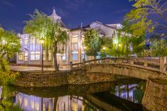 Okayama Canals Stock Photos