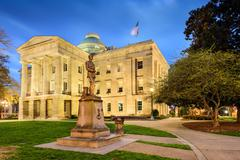 North Carolina State Capitol Stock Photos