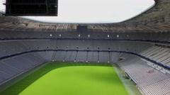Allianz Arena football stadium in Munich, Germany Stock Footage