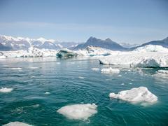 Columbia Glacier - stock photo