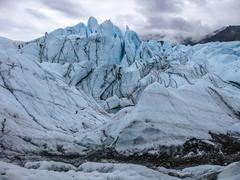 Matanuska Glacier - stock photo
