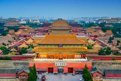 Forbidden City of Beijing - stock photo