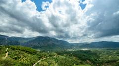 Avdou - Cretan countryside Stock Footage