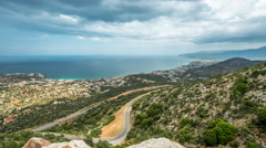 Malia village - Crete, Greece Stock Footage