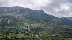 Krassi - Cretan countryside Stock Footage