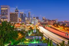 Atlanta Skyline - stock photo