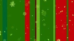 Christmas Stripes 2 - stock footage