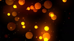 Cinematic Elegant Circles 1 Loopable Background - stock footage