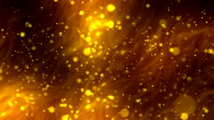 Liquid Metal Fantasy Glitters 1-Loopable Background Stock Footage