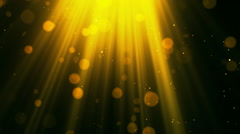 Heavenly Light Rays 2 Loopable Background Stock Footage
