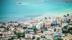 Stalida Beachfront - Crete, Greece Stock Footage
