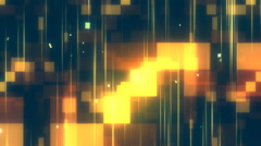Squares and Streaks 1-Loopable Background Stock Footage