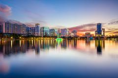 Orlando Skyline - stock photo