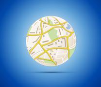 Globalization concept Stock Illustration