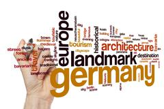 Germany word cloud concept - stock photo