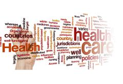 Stock Photo of healthcare policy plan disease health concept background