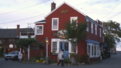 The Pewter Shop in Rockport, Massachusetts. Stock Footage