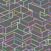 Seamless geometric pattern. Vector illustration. Stock Illustration