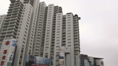 High-rise buildings in downtown Shanghai China. Stock Footage