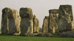 Clip of Stonehenge in England. Stock Footage