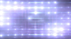 Bright Flashing Wall of Lights Stage Sports Stadium Background - stock footage