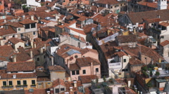 Ancient city in Italy. Stock Footage