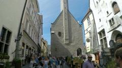 Tallinn in Estonia Stock Footage