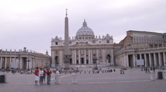 Clip of the Vatican in Rome Italy. Stock Footage