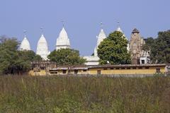 Rural Jain Temple Stock Photos
