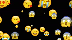 Emoji Play - stock footage