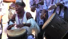 Togo Drummers, Africa with sound Stock Footage