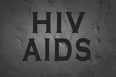 Word Hiv Aids Stock Photos