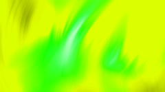 A multicolored form moves through space. Stock Footage