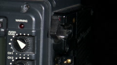 Close up of a battery attaching to a camera. Stock Footage